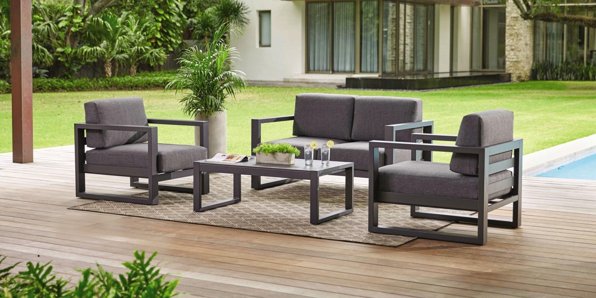Les mobiliers tendance pour l'espace extérieur