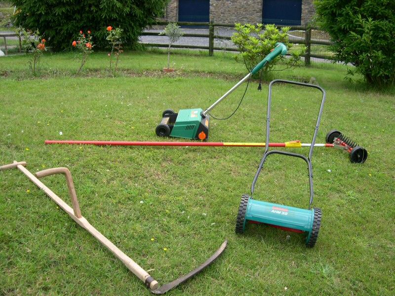 outils jardin